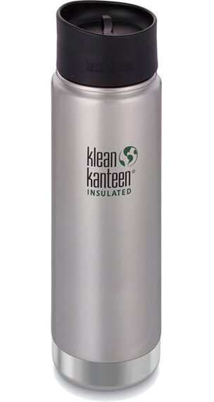 Klean Kanteen Insulated Wide Café Bootle 20oz (592 ml) Brushed Stainless